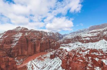新疆红山大峡谷_新疆旅游全景系统